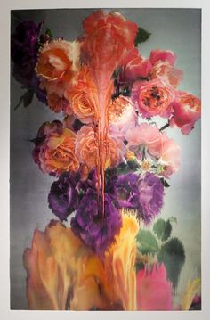 Nick Knight - Flora, I love the detail of the flowers and then the flow of colour makes the art piece look like a mystery. It looks like a washed look.