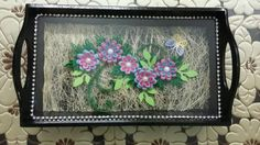 Paper quilling tray