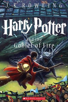"Harry Potter and the Goblet of Fire | ""Harry Potter"" Gets Seven New Illustrated Covers"