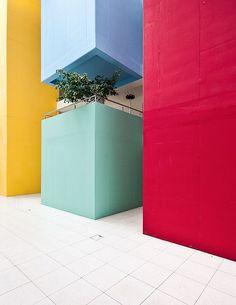 Resultado de imagen de minimalist color design architecture