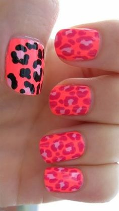 Probably wouldn't do this on my fingers.....but definitely cute for summer toes!
