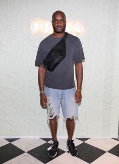 Вирджил Абло на запуске проекта Fondazione Prada «The Prada Double Club Miami» в Майами
