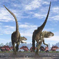 Allosaurus : Classification Règne Animalia Embranchement Chordata Sous-embr. Vertebrata Classe Sauropsida Super-ordre Dinosauria Ordre Saurischia Sous-ordre Theropoda Infra-ordre † Carnosauria Super-famille † Allosauroidea Famille † Allosauridae Sous-famille † Allosaurinae
