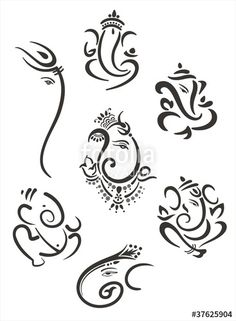 """Download the royalty-free vector """"Ganesh, Hindu deity , India"""" designed by NH7 at the lowest price on Fotolia.com. Browse our cheap image bank online to find the perfect stock vector for your marketing projects!"""