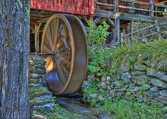 Water Wheel ~ Mill Museum, Weston, VT