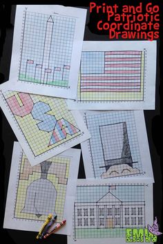 Have these ready for some filler math activities, sub plans, or President's day celebrations!
