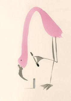 Flamingo, The R. U. Fauna Department Store Catalog 2009 by Anna Raff