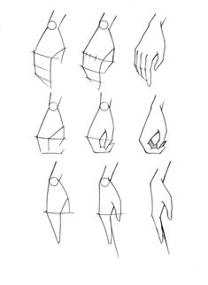 How to draw feet cuz idkHow to draw legs part Rules of geometry and body structureReference guide step by step drawing female torso.Step by Step drawing lessons easy pencil drawing lessons for beginners Hand Drawing Reference, Drawing Hands, Art Reference, Drawings Of Hands, Easy Hand Drawings, Sketches Of Hands, Paintings Of Hands, Simple Cute Drawings, Drawing Body Poses