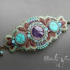 Браслет, который мы делали с ученицей на онлайн мастер классе. Времени занял прилично, но мне кажется он того стоит :) #beads #bead #бисер #бисероплетение #ручнаяработа #бижутерия #handmade #ukraine #украшения #jewelry #jewellery #beadart #jewelrydesign #fashion #instajewelry #jewelrygram #jewelrymaking #follow #handmadejewelry #bijoux #accessories #craft  #рукоделие #вышивка #вышивкабисером #своимируками #beadjewelry