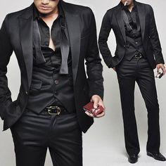 Black on black = classy