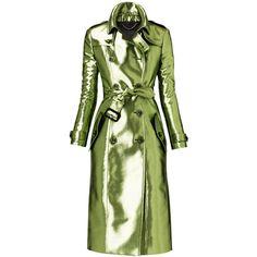 Burberry Coat, Burberry Women, Burberry Prorsum, Coats For Women, Clothes For Women, Women's Clothes, Summer Coats, Textiles, Green Coat