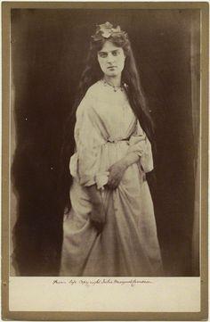Pre-Raphaelite model Marie Stillman (née Spartali) by Julia Margaret Cameron (1868)