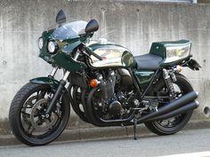 Honda CB1100 'Hakofugu Cafe' - White House - Racing Cafe
