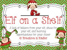 Elf on a shelf freebie