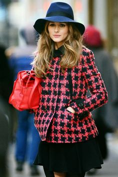 Olivia Palermo At a Photoshoot in New York City.