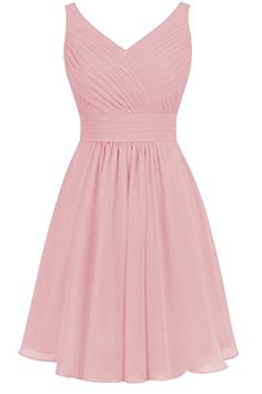Poplarboy V-Neck Sleeveless short Chiffon Bridesmaids Dress  https://www.amazon.com/gp/product/B01HKL090M/ref=as_li_qf_sp_asin_il_tl?ie=UTF8&tag=rockaclothsto-20&camp=1789&creative=9325&linkCode=as2&creativeASIN=B01HKL090M&linkId=9b92bce1bb9555eb95f277fc27f1f4b4