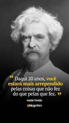 Mark Twain Frases, Positive Phrases, Motivational Phrases, Inspirational Quotes, Cogito Ergo Sum, Magic Words, Study Motivation, Words Quotes, Inspire Me