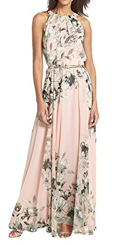 Beach Summer Chiffon Floral Printed Sleeveless Pleated Maxi Long Dress With Belt Pink S Arctic Flower http://smile.amazon.com/dp/B01069BDJQ/ref=cm_sw_r_pi_dp_JYWSvb0XHK0ZF