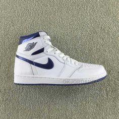 1d7820fcdb1 Air Jordan 1 Retro High OG  METALLIC NAVY  555088-106 Men And Women Size  Basketball Shoes