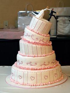 funny wedding cake toppers, groom runs cake topper