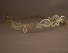 wire wrapped fantasy circlet - Google Search