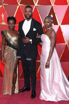 The Cast of Black Panther Brought Wakanda To The Oscars+#refinery29