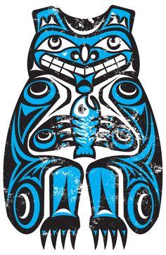 Northwest Native American Bear by ~theScallywag on deviantART