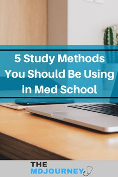Want to learn how to study in medical school? Check out these top 5 study methods for med school and pre-meds that you should be using! Study Techniques, Study Methods, Np School, School Tips, Getting Into Medical School, Professional School, Medical Careers, School Essentials, Student Motivation
