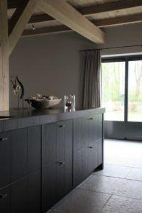 Interieurprojecten - Frieda Dorresteijn Belgian Style, Living Styles, Rustic Kitchen, Country Style, Cabinet, Storage, Interior, Furniture, Kitchens