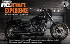 Win 1 of 2 2017 Harley-Davidson Motorcycles and Trips.