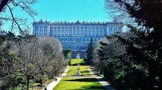 Palacio Real desde los jardines del campo del Moro