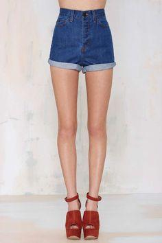 Nasty Gal Denim - The Born to Run Short - Denim | Shorts | Bottoms | Clothes |