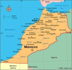map of spain and morocco | So helpful! | Pinterest | Spain travel ...