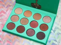 The Nubian Eyeshadow Palette from Juvia's Place