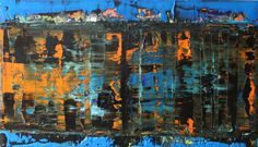 new vision acrylic painting on canvas 100 cm x 70 cm nO.307