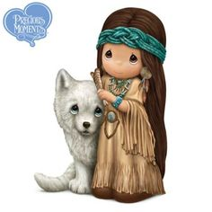 Shop a great selection of exclusive Precious Moments collectibles at Hamilton Collection. Select from many of the adorable Precious Moments figurines that we offer. Precious Moments Quotes, Disney Precious Moments, Precious Moments Figurines, Native American Fashion, Collectible Figurines, My Precious, Sacred Heart, Cute Art, Nativity