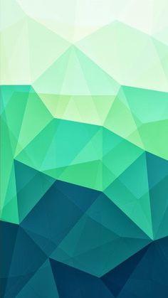 Green Wallpaper, Wallpaper Decor, Geometric Wallpaper, Colorful Wallpaper, Phone Screen Wallpaper, Iphone Wallpaper, Cartoon Panda, Polygon Art, Green Paintings