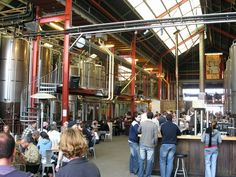 Little Creatures Brewery, Fremantle Western Australia. (A must see from all who have been there!)