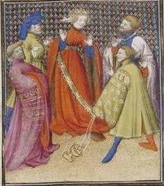Giovanni Boccaccio, De Claris mulieribus; Paris Bibliothèque nationale de France MSS Français 598; French; 1403, 15v. http://www.europeanaregia.eu/en/manuscripts/paris-bibliotheque-nationale-france-mss-francais-598/en
