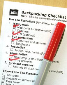 All sorts of awesome checklists and articles on camping, backpacking, and other outdoor activities, from REI.