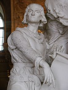 Raymond IV Crusader, of Toulouse born in St. Gilles du Gard France  Salle des illustres 10.JPG