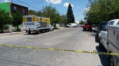 <div>En el cruce de las calles Justiniani y 40 en la colonia Dale, agentes municipales localizaron el camión de la empresa Coppel que había sido