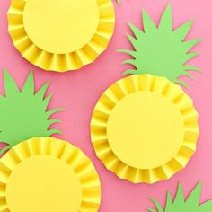 Pineapple Rosettes | Craft Gawker | Bloglovin'