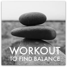 To Find Balance . Work Out! Working out actually helps Erin find balance as a parent.<br> A new study shoes that working out can actually increase the balance you feel juggling all of your demands! Health And Wellness, Health Fitness, Mental Health, Fitness Tips, Fitness Motivation, Fast Workouts, Workout Tips, Happy Minds, Love My Body