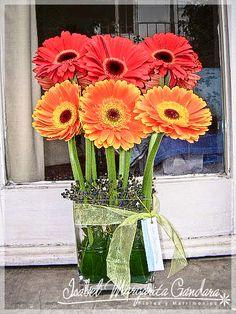 arreglos florales con gerberas - Buscar con Google