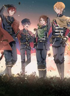 浦島坂田船 Anime Chibi, 5 Anime, Anime Art, Dark Anime, Vocaloid, Cute Anime Boy, Anime Boys, Anime Group, Anime Kunst