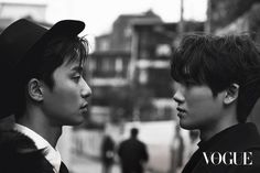 """[Photos] """"Hwarang"""" Park Seo-joon and Hyung Sik's bromance @ HanCinema :: The Korean Movie and Drama Database The pictures can be seen in the December issue of VOGUE KOREA and """"Hwarang"""" is released on the 19th of December."""