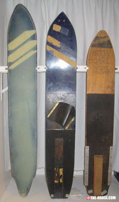Vintage Burton Patent Pending Snowboards
