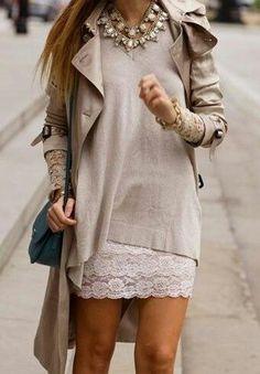 Shirt lace