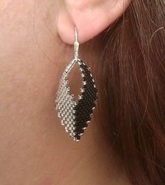 Instructions for making Russian leaf earrings. (plus other beading instructions)